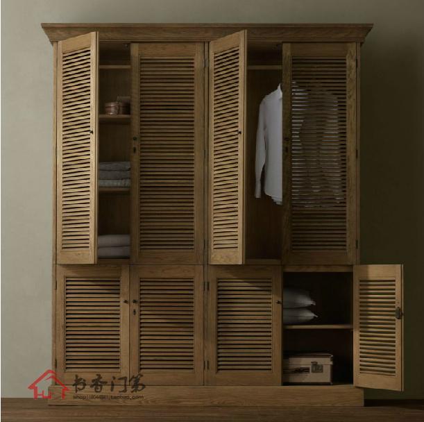 campagne fran aise antique meubles est solide armoire en bois armoire de chambre armoire. Black Bedroom Furniture Sets. Home Design Ideas
