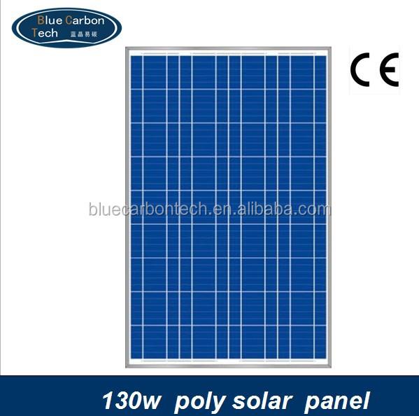 hot prix par watt panneau solaire photovolta que 130 w cellules solaires panneaux solaires id. Black Bedroom Furniture Sets. Home Design Ideas