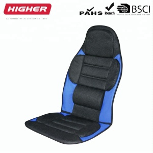 Comfortable luxury mesh seat cover seat cushion with piping massage cushion lumber back support pain relief seat cover PU