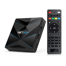 2019 Nuovo Arrivo HK1Play S905X2 Chip di Android 9.0 <span class=keywords><strong>TV</strong></span> <span class=keywords><strong>Box</strong></span> 2.4G WiFi 100 M Supporto Spagnolo/Arabo/ russo Multi-Lingue