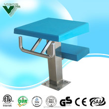 Durable fiberglass pool starting platform / swimming pool starting block