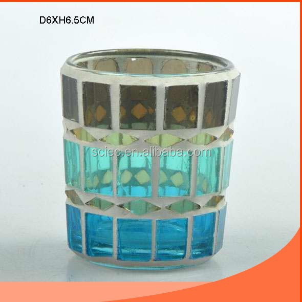 Cylindrical shaped and delicacy lamp with mosaic wholesale