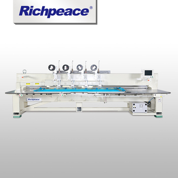High-quality Richpeace Clothing Computerized Wiring Stitching Machine