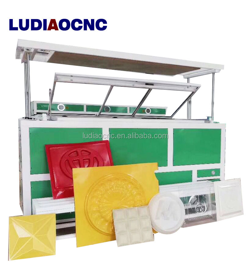 Acrylic sign vacuum heat forming machine for plastic/ABS vacuum theromforming machine for acrylic light box