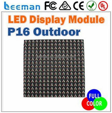 Leeman <span class=keywords><strong>p16</strong></span> rgb outdoor-led-display-modul 256mm x 256mm, <span class=keywords><strong>p16</strong></span> rgb vollfarbig display-modul