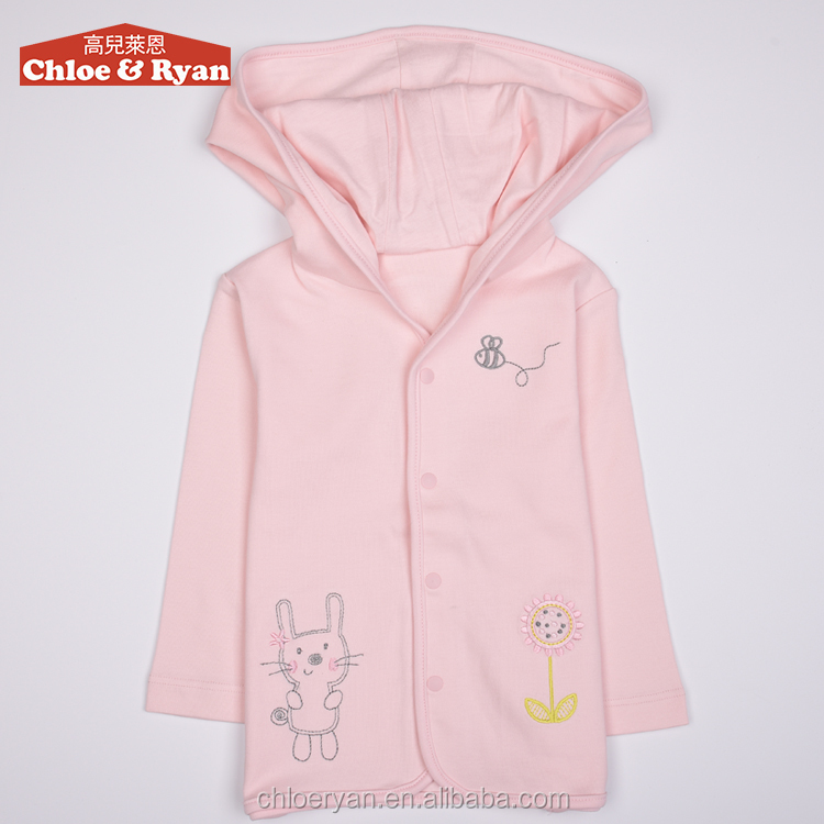 Wholesale Cotton long sleeve baby clothes 1pcs baby wear lovely