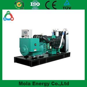 Mola Diesel Generator 100 kw Max Power 125 kva Open / Silent Type On Optional