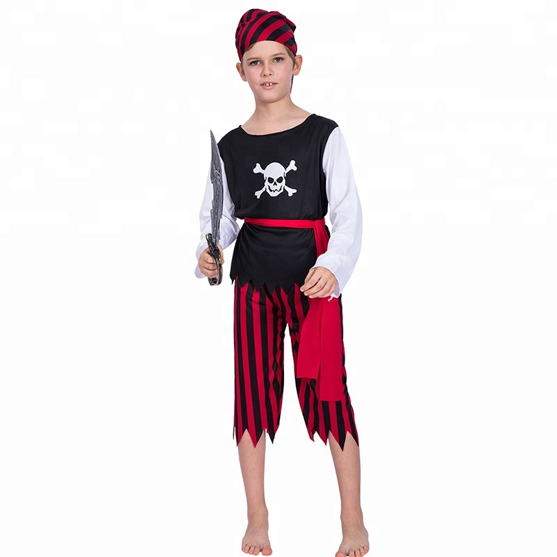 Halloween Costume Party Cosplay Fancy Suit Kid Boy Toddler Clothing S M L Size