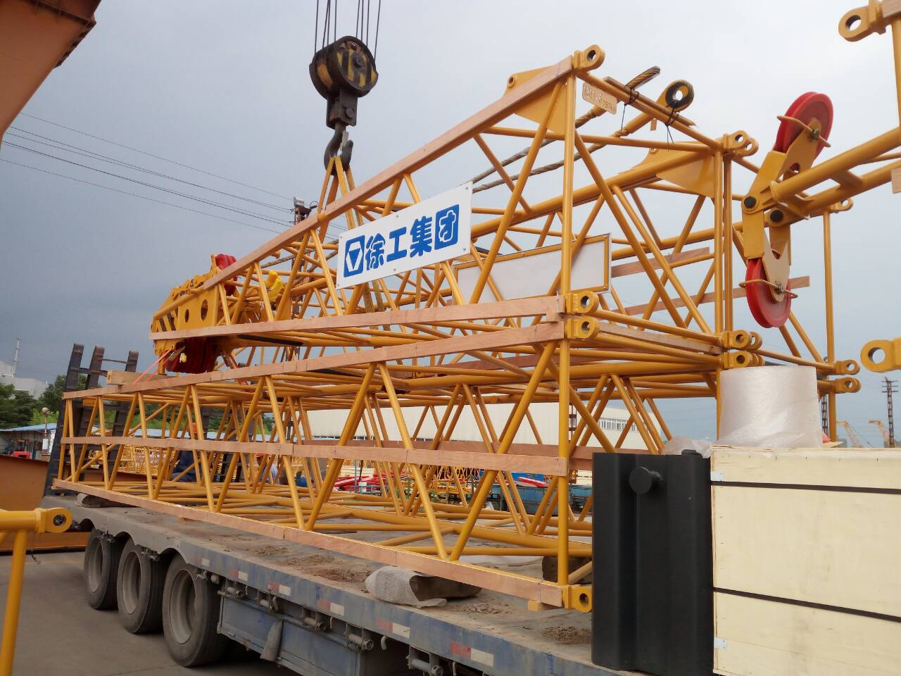 New 55 Ton XCMG Chinese Crawler Crane with Good Price XGC55 for sale in Uganda