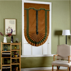 Classical style Roman curtain fan blinds bedroom living room shade roman blind