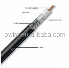 CATV HFC network DROP RF 50 ohm coaxial cable high quality