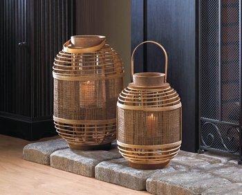dekorasi dari anyaman bambu | ideku unik