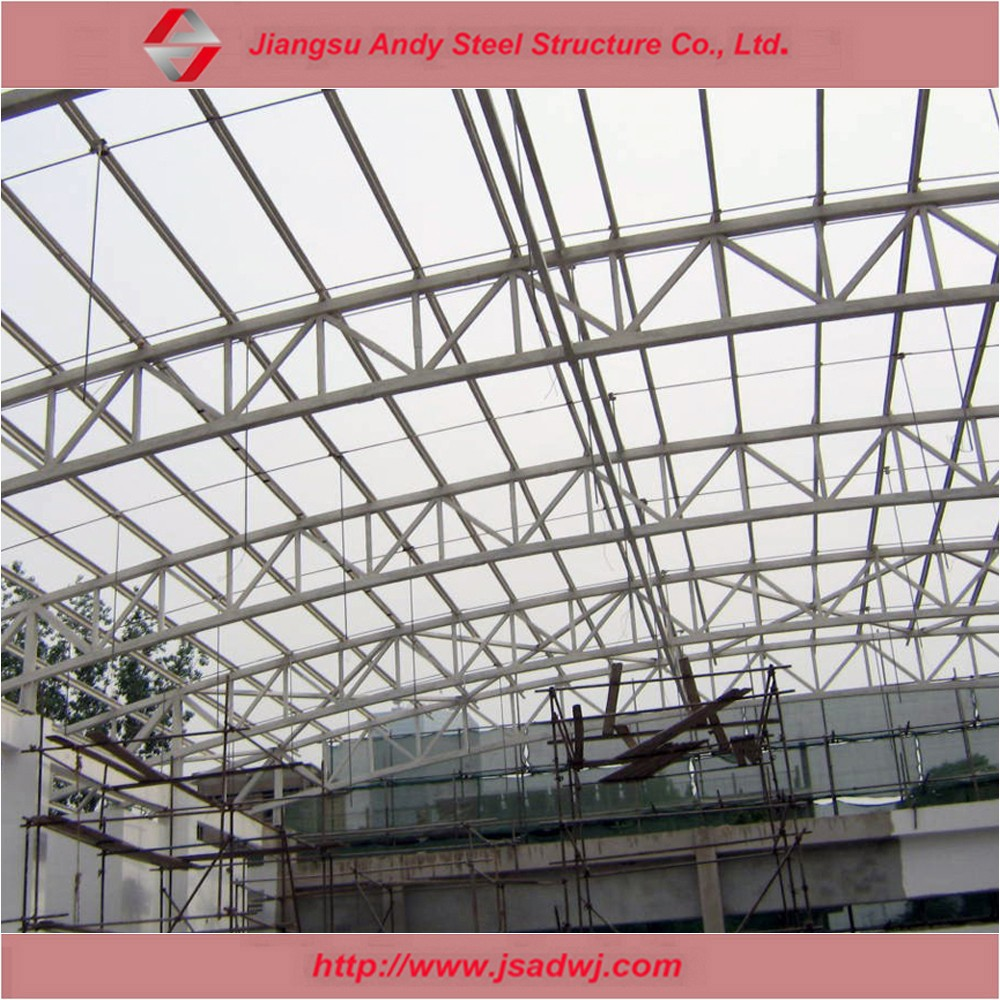 Welcome to customize space frame roof for swimming pool
