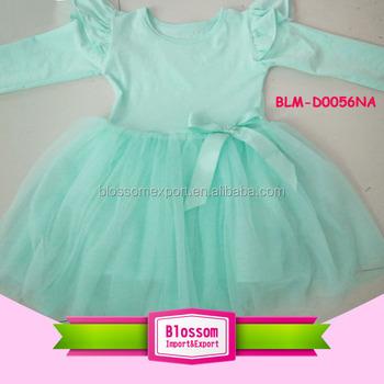 c568d92167b5 Cotton Baby Girl Dresses Design Ruffled Chiffon Tutu Dress Girl ...