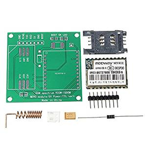 BephaMart DIY M590E GSM GPRS Communication Module Kit Dual Band 900/1800MHZ 85.6 Kbit/s 900m-1800m For Arduino Shipped and Sold by BephaMart