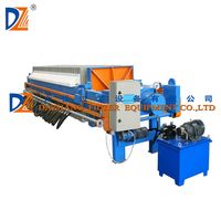DZ 870 PP Material Membrane Recessed filter press program controlled by high pressure