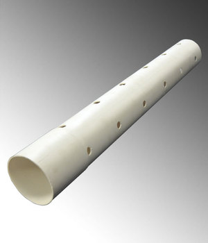 2 inch perforated drain PVC pipe