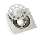 China manufacturer cheap stainless steel drain cover bathroom floor drain shower floor drain