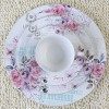 new bone china dinnerware set with flower design for gift ceramic