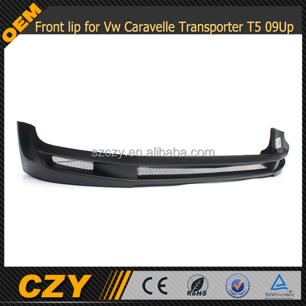 Front lip for Vw Caravelle Transporter T5 09Up