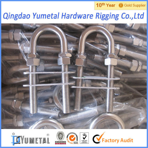 Stainless Steel U Bolt With Plate And Nuts - Buy U Bolt,316l Stainless  Steel Bolts,A4 Stainless Steel Bolts Product on Alibaba com