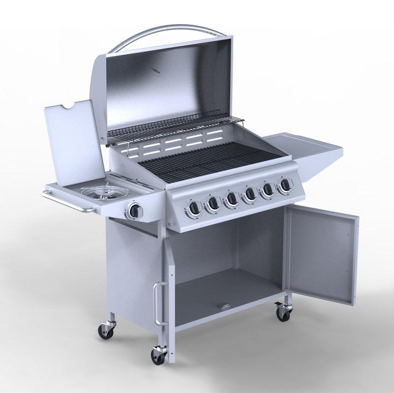 6 Brenner Outdoor-küche Grill Bbq,Edelstahl Grill Gasgrill - Buy ...