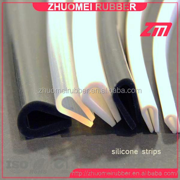 Rubber Edging Strip Silicone U Channel Edge Protection