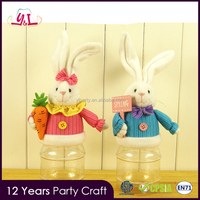 2017 Party Supply Plush Bunny Candy Box For Easter