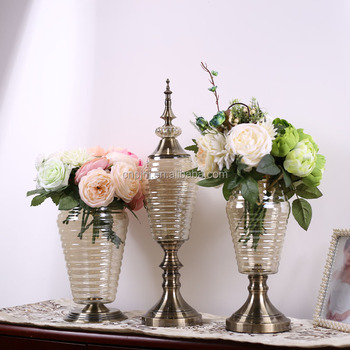 Home And Wedding Table Centerpiece Decoration Tall Glass Vase For