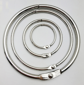 Metal split O ring/loop for book,keyring