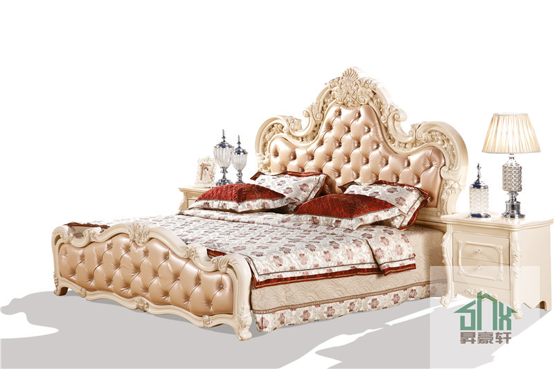 Latest Design Antique Bedroom Furniture Set Ha 916
