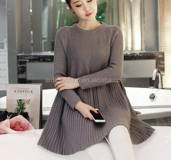 Custom Long Sleeve Knitting Maternity Dress Buy Korean Style Maternity Dressmaternity Dresses For Officestylish Lace Long Sleeve Maternity Wedding
