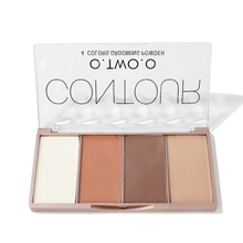 O. TWO. O Contour Bronzer Face Shading Palette เครื่องสำอางค์แต่งหน้า Face Contouring Grooming Pressed Powder