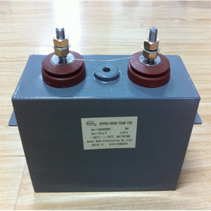 square dry type welding inverter high voltage dc filter capacitor manufacturer made