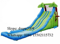 Piscinas Inflables Para Adultos 2016 Factory Customized Inflatable Water Slip And Slide With Pool commercial Slides