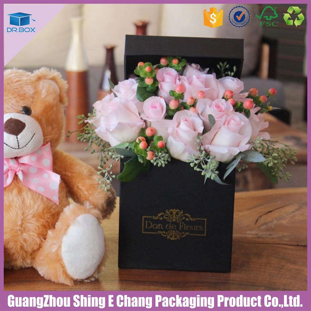 Hot selling black square flower vase stand wedding decoration hot selling black square flower vase stand wedding decoration flower packaging box reviewsmspy