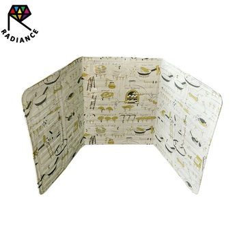 high quality Aluminum Foil High-temperature Insulation Solia Oil Baffle-Plate