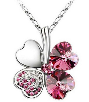 hot sale crystal pendant women crystal pendant necklace 10 colors available