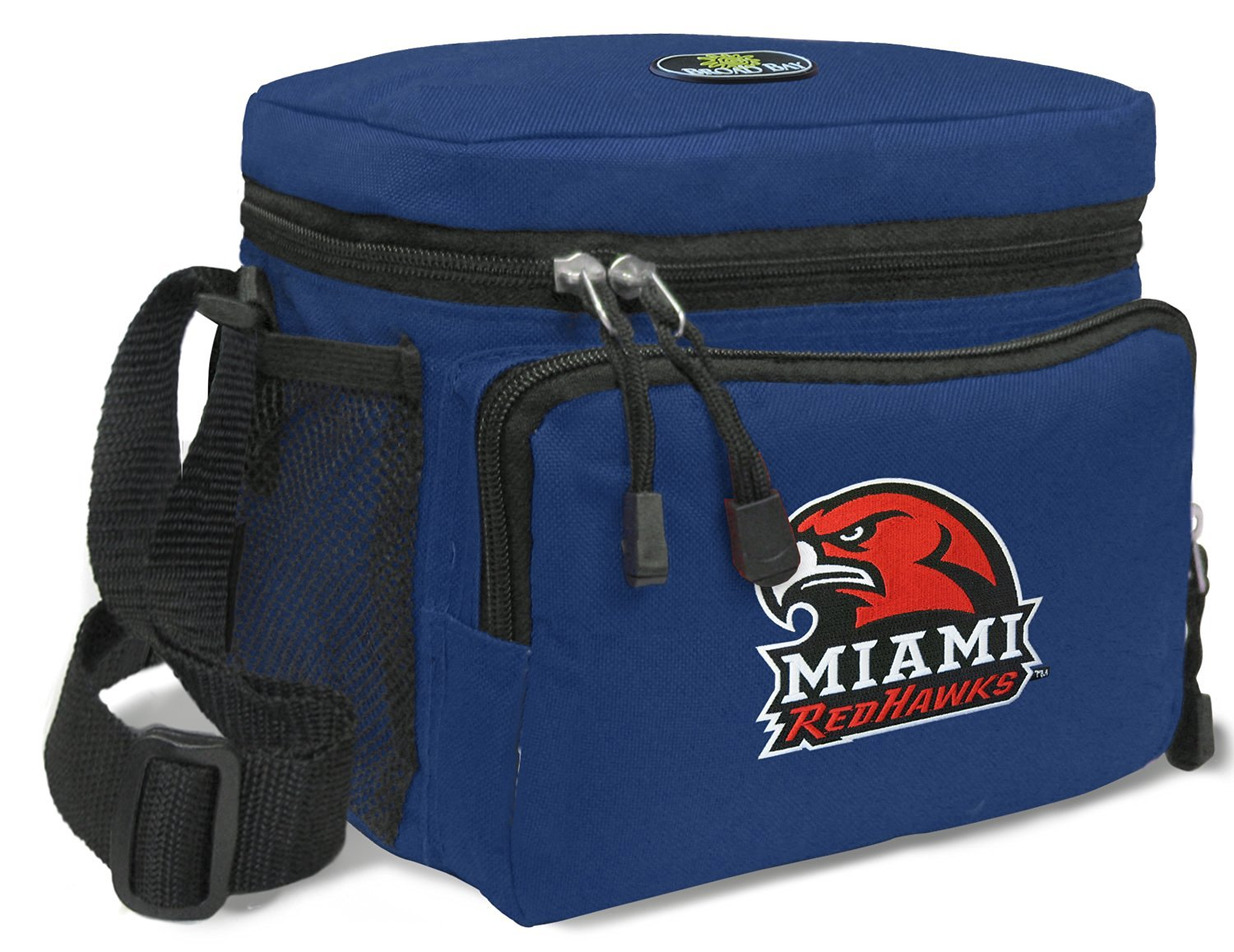 Miami RedHawks Lunch Bag NCAA Miami University Lunchboxes