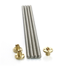 Carbon Steel Screw Threaded Rod 10mm* 200/300/400mm With Brass Nut