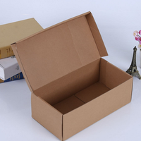 Corrugated 3 Layers Kraft Paper Small Size Mailing Box for Delivery Packaging