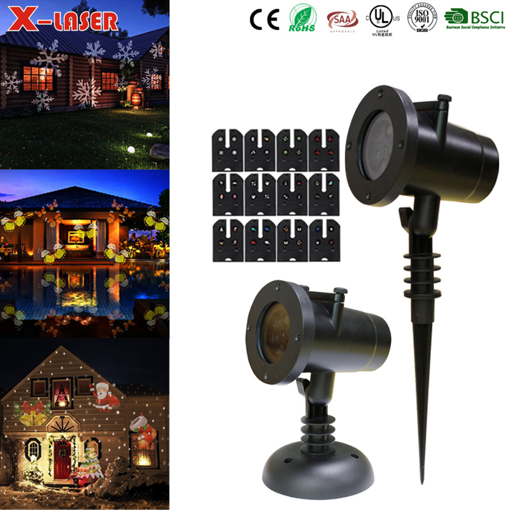 ABS Plastic Fashion Design Holiday Led Light, Wedding Themes light, 12 Themes In One Led Light