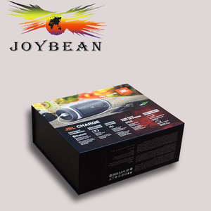 Low price disposable printed logo electric bicycle battery charger paper carton box