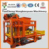 New design low cost for QTJ4-25 automatic fly ash cement concrete brick moulding machine with top quality