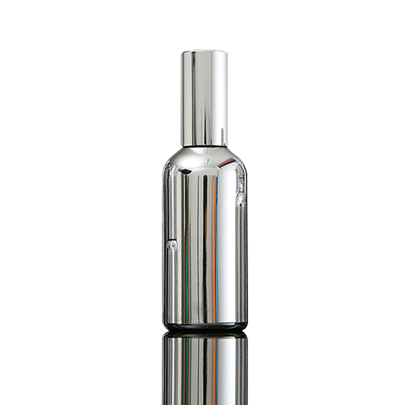 Fuyun Quick shipping silver color glass 100ml <strong>empty</strong> <strong>perfume</strong> spray <strong>bottles</strong>