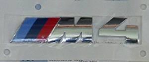Genuine BMW Brand F82 F83 M4 Rear Trunk Emblem Badge Factory Sealed OEM