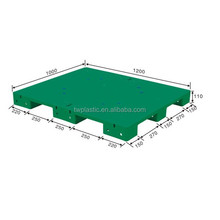 1200*1000*110mm Single Side Closed Deck Warehouse Plastic Pallet
