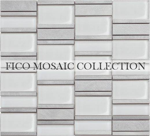 Fico new arrival 2016 GML713S,china manufacturer uneven wood mosaic