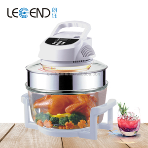 Digital control electric convection halogen oven