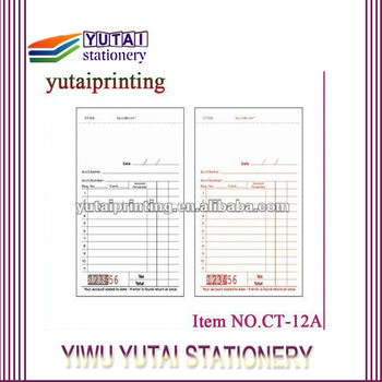 invoice printing high quality transport invoice service model buy